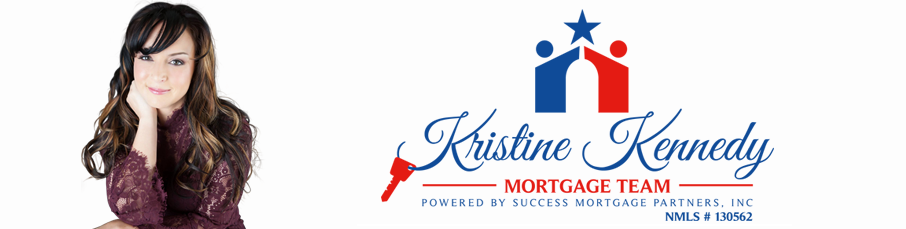 Image of Kristine Kennedy and Her Company Logo